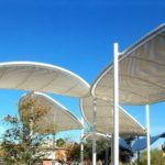 Carpark shade sail Dubai